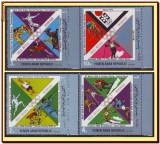 YAR Yemen 1972 - Medalii olimpice Franta (1), sport olimpic, serie dantelata MNH, Nestampilat