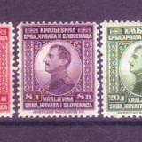 1923 Iugoslavia Mi. 169-173  conditie * *