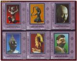 YAR Yemen 1970 - Arta din Siam, Sculpturi asiatice, serie dantelata MNH, Nestampilat