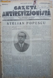 Gazeta antirevizionista , an 2 , nr 21 , Arad , 1935