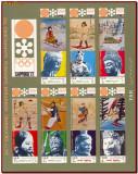 YAR Yemen 1971 - Olimpiada Sapporo, sport, minicoala nedantelata cu vigneta, Nestampilat