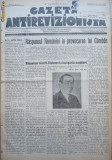 Gazeta antirevizionista , an 2 , nr 47 , Arad , 1935
