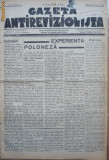Gazeta antirevizionista , an 2 , nr 36 , Arad , 1935