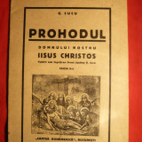 G.Cucu - Prohodul - Ed.IIa -1938 - Carti bisericesti