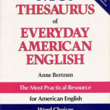 THESAURUS OF EVERYDAY AMERICAN ENGLISH