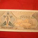 Bancnota 1 Rupie INDONEZIA, 1961, Neindoita - bancnota asia