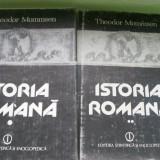 ISTORIA ROMANA THEODOR MOMMSEN VOL, 1, 2 - Istorie