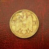 Romania - moneda 10 lei 1930 Carol II - monetaria KN