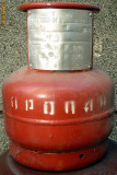 Butelie aragaz camping cu garda, model rusesc, 5 litri