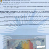 BANCNOTA 2000 LEI ECLIPSA SERIE LIMITATA BNR - Bancnota romaneasca