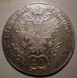 E.183 AUSTRIA FRANZ I 20 KREUZER 1815 A ARGINT 6,68g, Europa