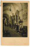 299 - SINAIA, Prahova, Castelul Peles interior - old postcard - unused