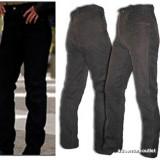 Pantaloni Moto Jeans Piele Chopper TSCHULL 994BLJ-Sigilati-XXS/XS-Germania