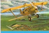 Carte postala ilustrata AVIATIE -  SPAD 33/46