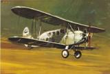 Carte postala ilustrata AVIATIE -  Avioanul biplan Polikarpov PO-2 (1946-1956)