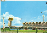 Carte postala ilustrata AVIATIE -  Aeroportul international Otopeni, intreg postal