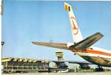 Carte postala ilustrata AVIATIE -  Aeroportul international Otopeni
