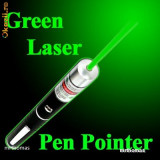 LASER 2000 mW POINTER Pix Stelar VERDE STILOU GREEN PEN 2 baterii - Laser pointer