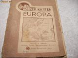 WW II - AL III -LEA REICH 1943 -  HARTA EUROPA
