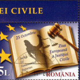 Romania 2011 Ziua Europena A Justitiei - timbru stampilat