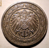 E.305 GERMANIA DEUTSCHES REICH 20 PFENNIG 1892 A, Europa, Cupru-Nichel
