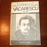 IANCU VACARESCU - OPERE - Carte de calatorie