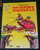 LUCKY LUKE - DILIGENTA - BENZI DESENATE IN LIMBA ROMANA
