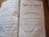 TRAITE DE MEDECINE LEGALE DE JURISPRUDENCE MEDICAL ET DE TOXICOLOGIE - 1886
