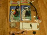 Cablu adaptor antena RCA Jack audio video power