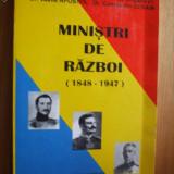 MINISTRI DE RAZBOI - ( 1848 - 1947 ) - V. Apostol, C. Ucrain ( autograf) - Istorie