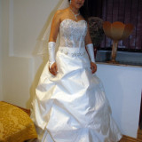 Vand rochie de mireasa gen princess - Rochie de mireasa printesa
