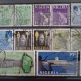 Timbre nigeria 1961 - Timbre straine