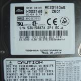 Hard Disc HDD Laptop IDE TOSHIBA 20 Gb - defect, 41-80 GB, Rotatii: 4200, 2 MB