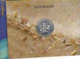 bnk mnd australia 10 $ 1989 unc, argint , queensland
