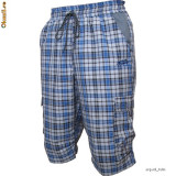 Pantaloni 3/4 Outdoor / Trekking Tashev Cargo Albastrii, M, S, XL