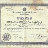 Brevet 1906, MEDALIA JUBILIARA CAROL I. - Ordin/ Decoratie