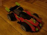 Macheta masina cars originala LEGO Racers Fast Red Shark Team Creators