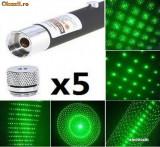 Laser Verde 3D ===Green laser Pointer=== 200 MW Cu 5 Capete De Schimb