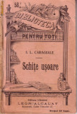 I.L.Caragiale-Schite usoare 1896