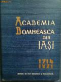 Academia Domneasca din Iasi 1714-1821-Stefan Birsanescu