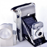 Camera foto Polaroid Highlander Model 80 cu burduf - colectionari - Aparat de Colectie