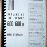 Manual de reparatii Fiat 600 - copie xerox -
