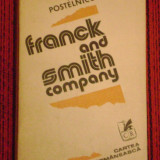 Franck and Smith company - Roman, Anul publicarii: 1982