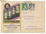 RFL ROMANIA 1928 Satu Mare carte postala reclama lampi pentru mineri