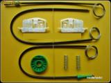 Kit reparatie macara geam Ford Fiesta (fab. 2002-2008) stanga fata 2/3 usi