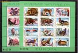 Romania L1187 Rezervatii naturale din Europa-flora-fauna prot.1987-blocuri