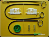 Kit reparatie macara geam electric Ford Fiesta 2/3 usi(fab. '02-'08)fata dreapta