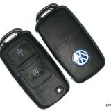 Cheie completa Briceag 2 butoane VW cu Cip ID 48 si modul telecomanda 434mhz