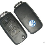 Cheie completa Briceag 3 butoane VW cu Cip ID 48 si modul telecomanda 315 MHZ