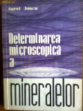 Determinarea microscopica a mineralelor-Dr Aurel Juncu